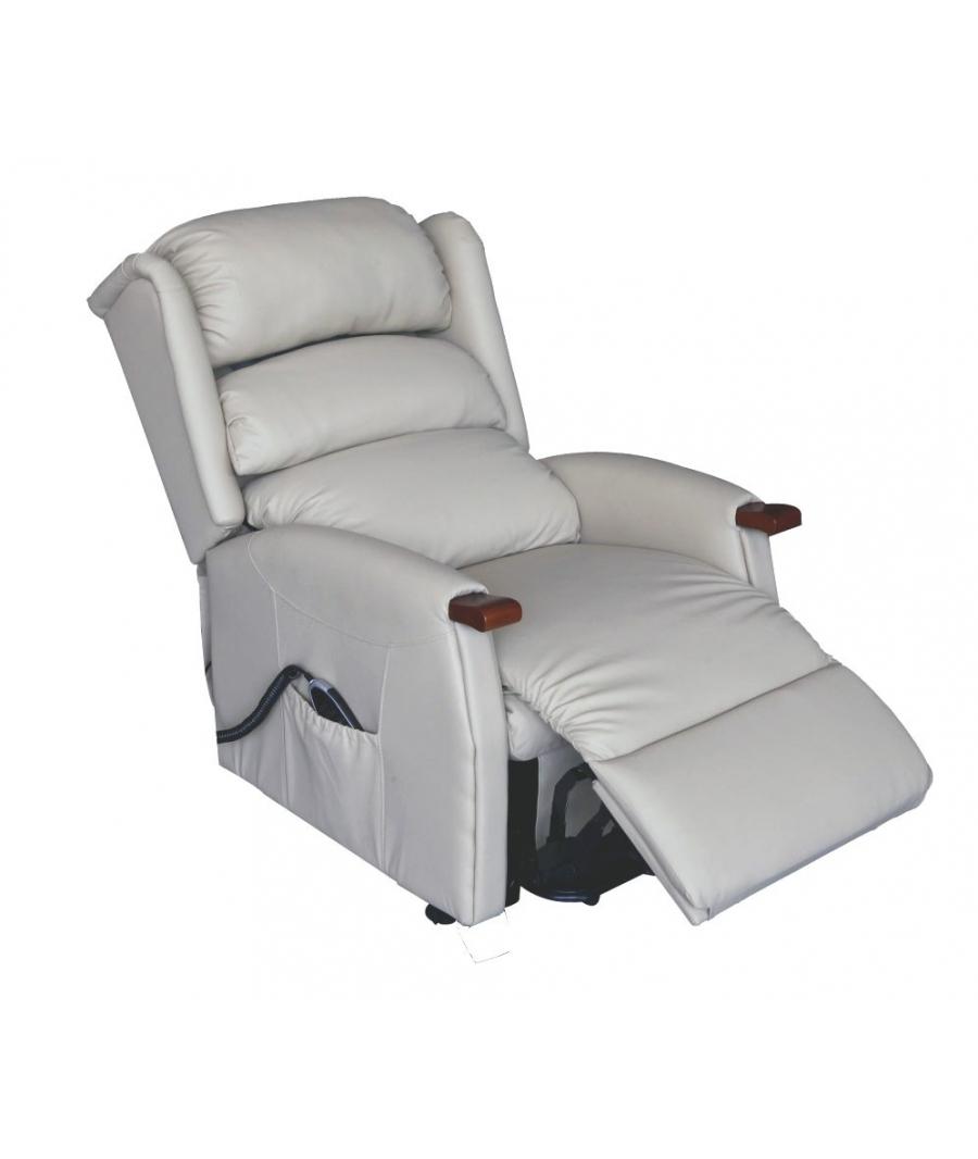 Relaxsessel Elektrisch Verstellbar ~  mit Aufstehhilfe > RELAXSESSEL ELEKTRISCH VERSTELLBAR SPLENDOR BEIGE