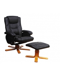 massagesessel mit hocker - Relaxsessel