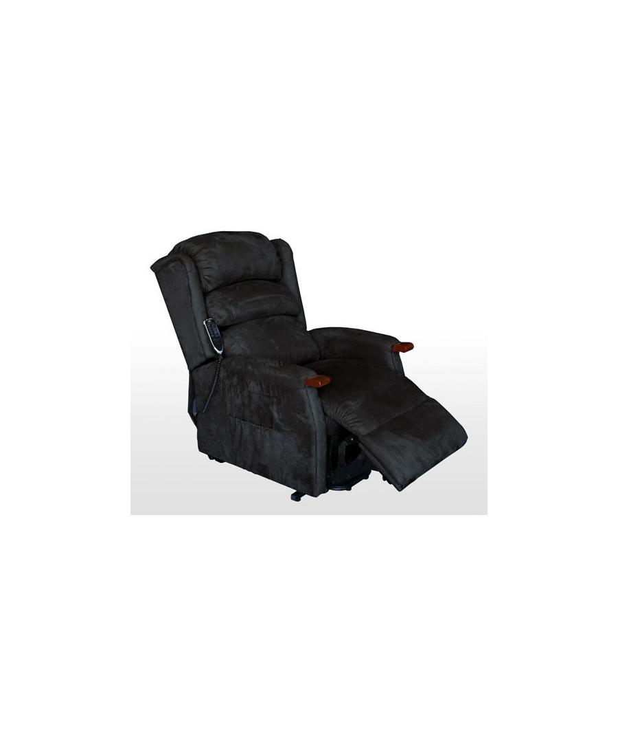 sessel mit aufstehhilfe 2 motoren und massage schwarz. Black Bedroom Furniture Sets. Home Design Ideas