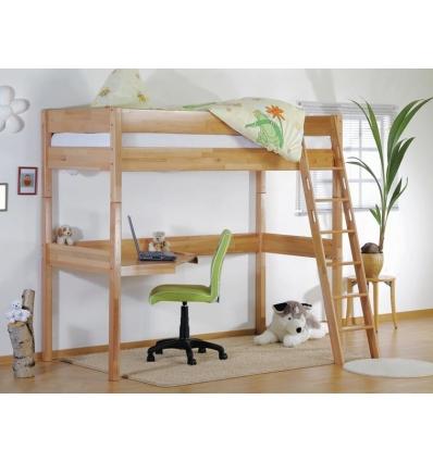jugend hochbett mit schreibtisch. Black Bedroom Furniture Sets. Home Design Ideas