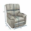 Sessel mit aufstehhilfe abmessung
