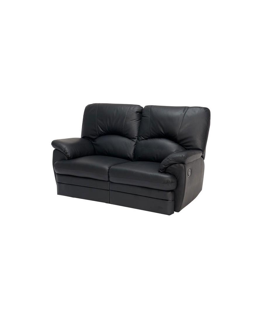 relaxsofa 2 sitzer relax leder sofa garnitur tv sessel. Black Bedroom Furniture Sets. Home Design Ideas
