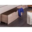 Holzbett mit Schubladen