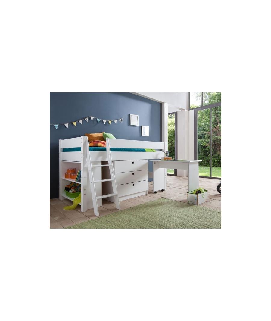 kinder hochbett. Black Bedroom Furniture Sets. Home Design Ideas