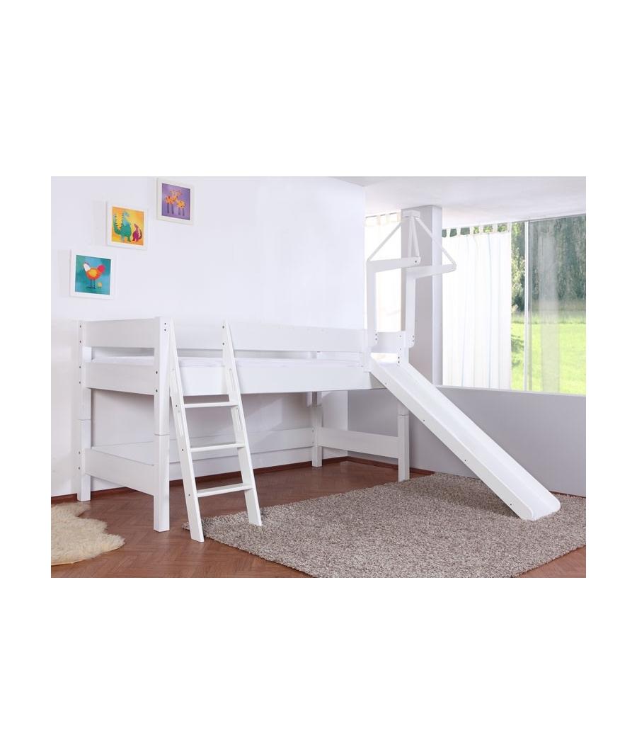 kinder hochbett mit rutsche. Black Bedroom Furniture Sets. Home Design Ideas