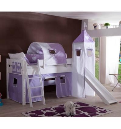 hochbett mit rutsche weiss perfect bild with hochbett mit rutsche weiss spielbett hochbett. Black Bedroom Furniture Sets. Home Design Ideas
