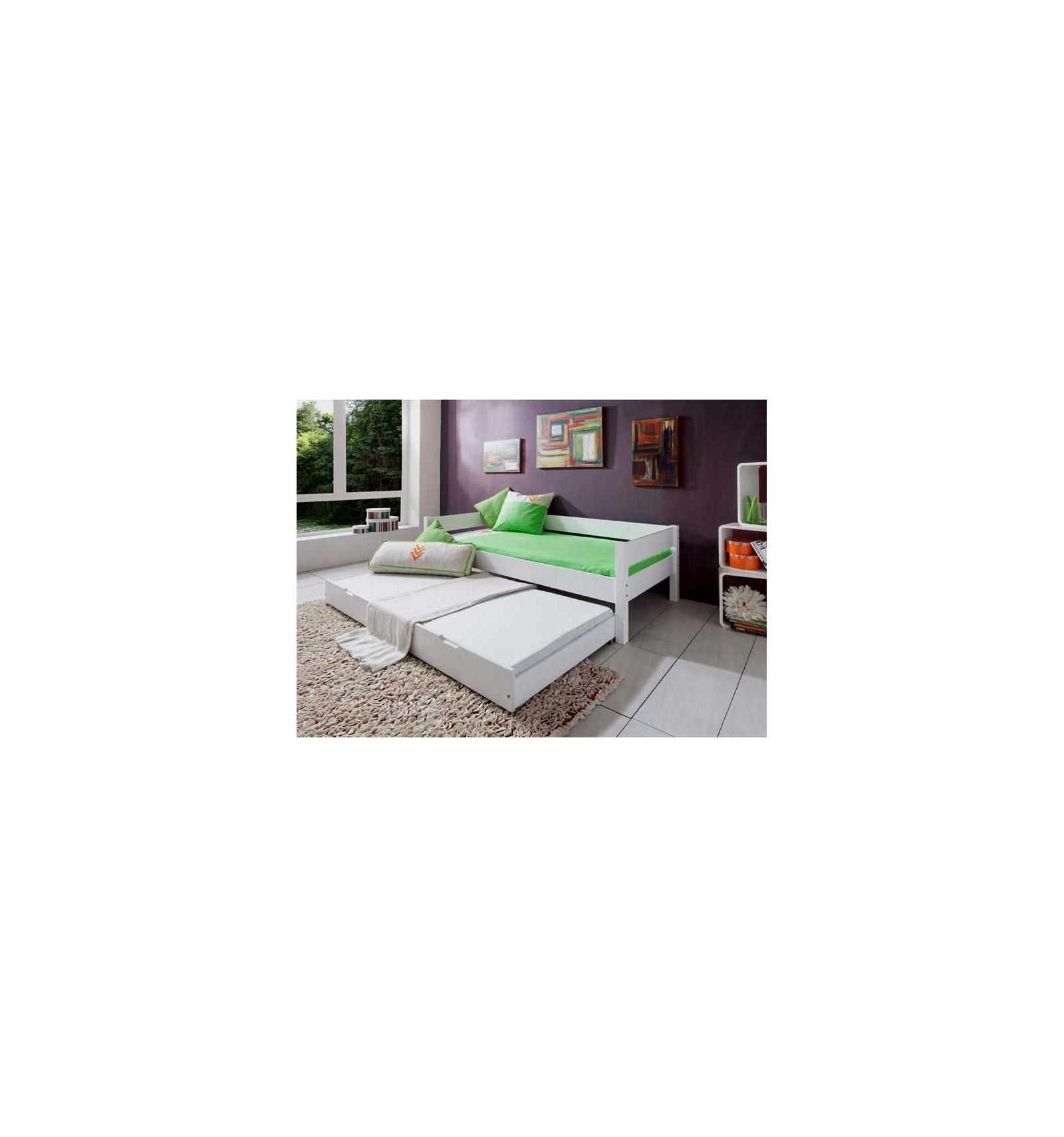 einzelbett aus holz. Black Bedroom Furniture Sets. Home Design Ideas