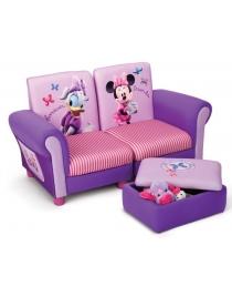 Sofa Minnie Mouse mit hocker
