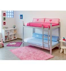stockbett aus stahl befara. Black Bedroom Furniture Sets. Home Design Ideas