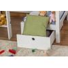Kinderstockbett mit schreibtisch