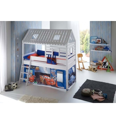 hochbett mit haus. Black Bedroom Furniture Sets. Home Design Ideas