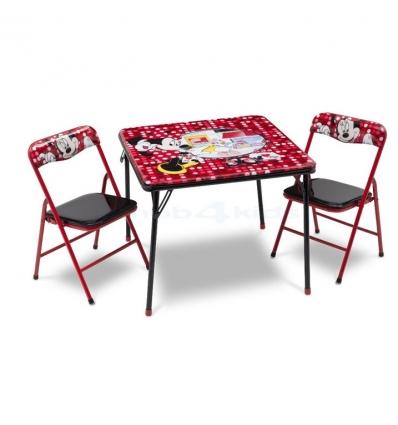 tisch und st hle minnie mouse. Black Bedroom Furniture Sets. Home Design Ideas