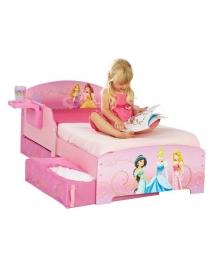 Kinderbett mit schubladen Prinzessin Disney