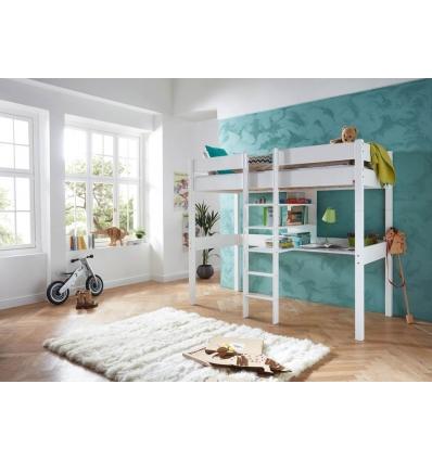 hochbett mit schreibtisch. Black Bedroom Furniture Sets. Home Design Ideas