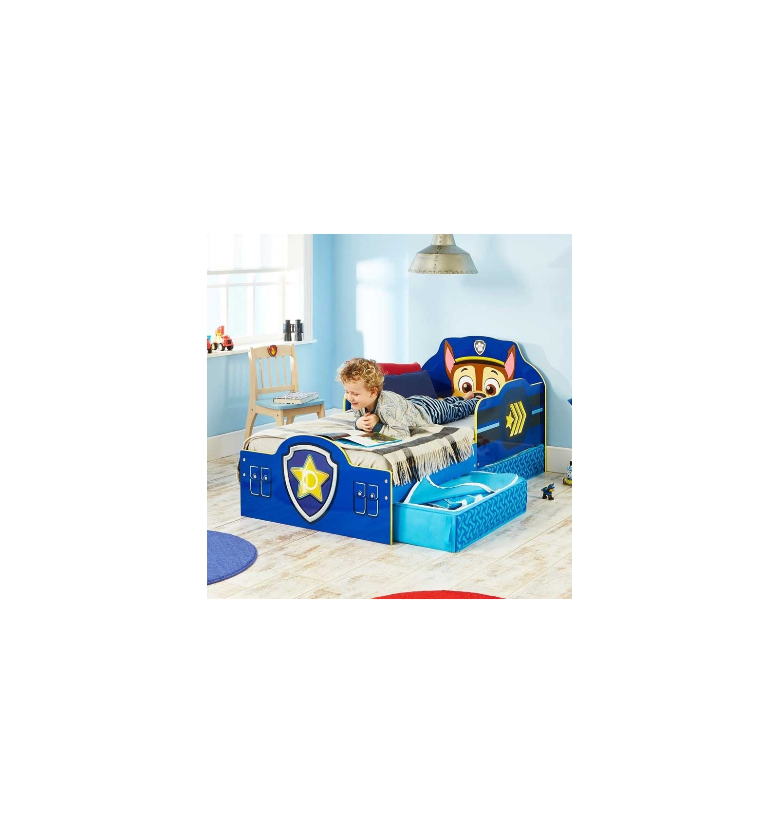 kinder einzelbett paw patrol. Black Bedroom Furniture Sets. Home Design Ideas