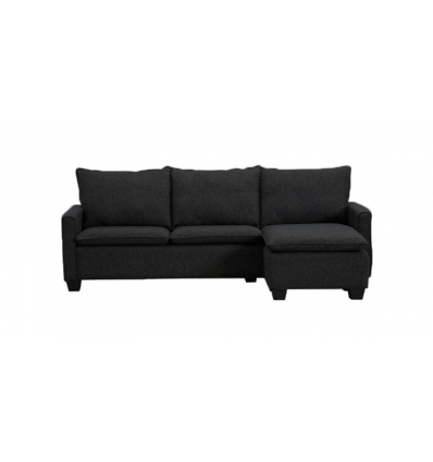 Sofa mit chaise longue for Bequemes sofa
