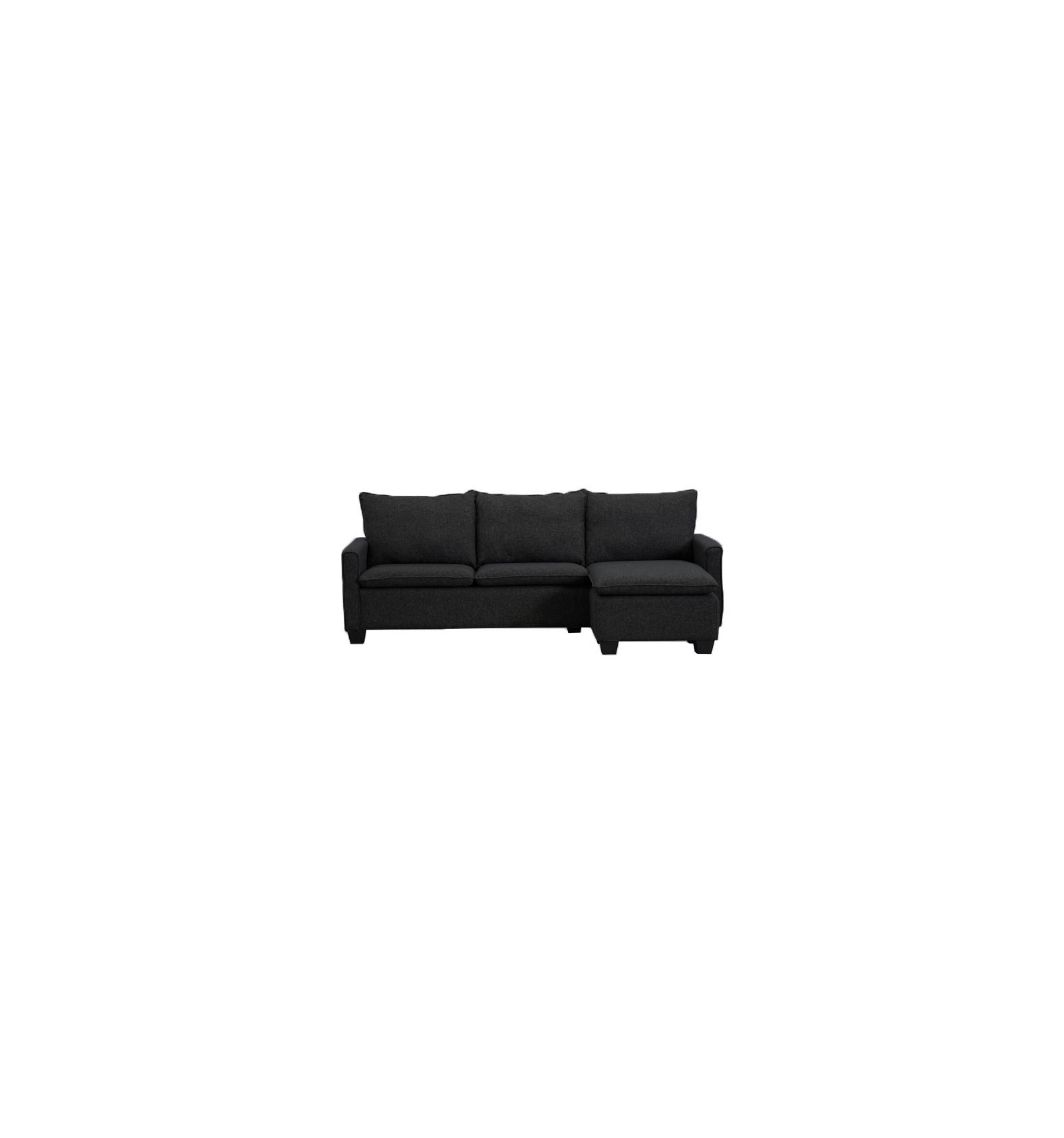 sofa mit chaise longue. Black Bedroom Furniture Sets. Home Design Ideas