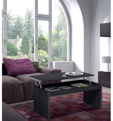 Anhebender Wohnzimmer Aschegrau Tisch