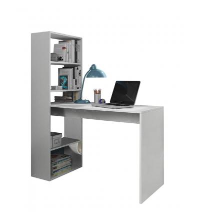 schreibtisch mit b cherregal. Black Bedroom Furniture Sets. Home Design Ideas