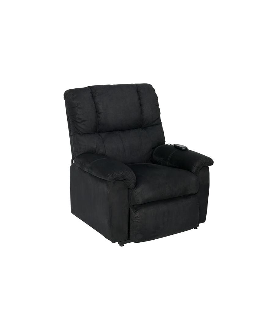 seniorensessel mit elektrischer schwarz shanon. Black Bedroom Furniture Sets. Home Design Ideas