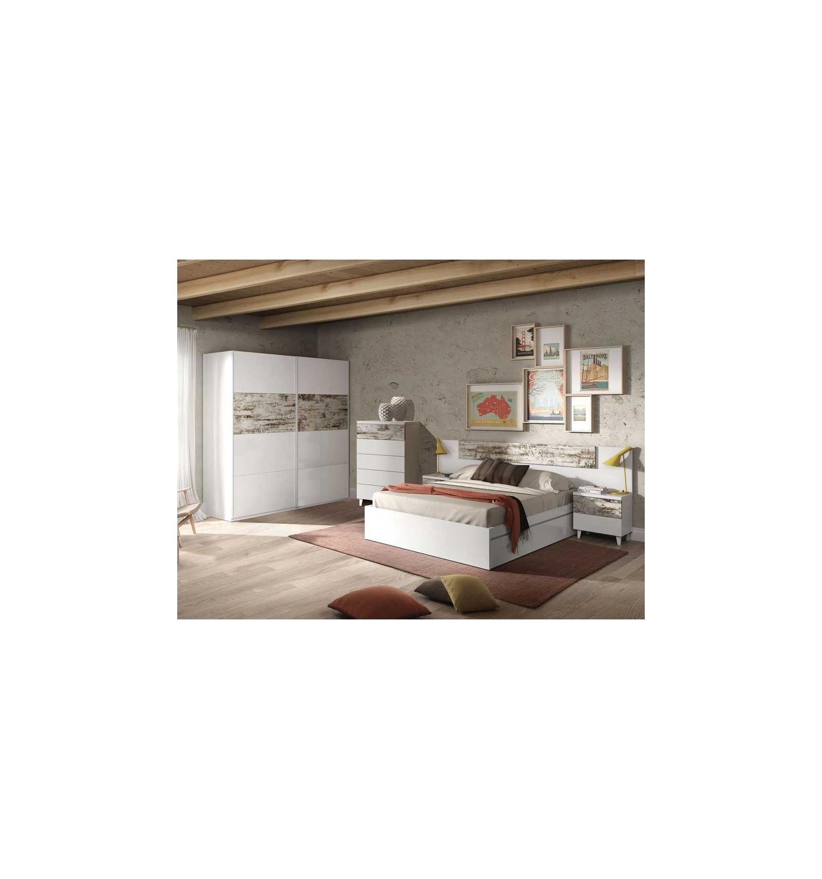 doppelbett mit schubladen moria. Black Bedroom Furniture Sets. Home Design Ideas