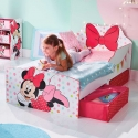 KINDERBETT MIT SCHUBLADEN MINNIE MOUSE