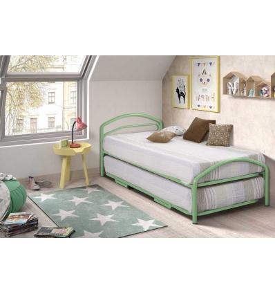 Einzelbett mit Zusatzbett