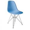 Stuhl blau