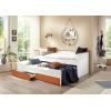 Bett mit Schubladen und Zusatzbett