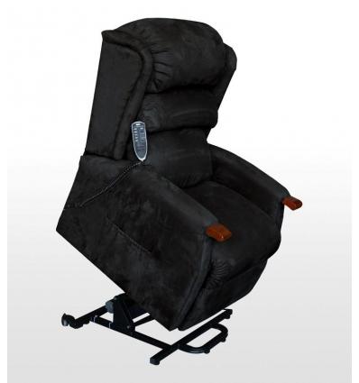 Sessel Mit Aufstehhilfe 2 Motoren Und Massage Schwarz