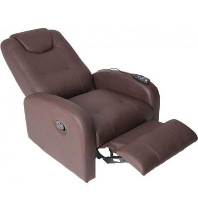 Fernsehsessel Relaxsessel braun ausgedehnt