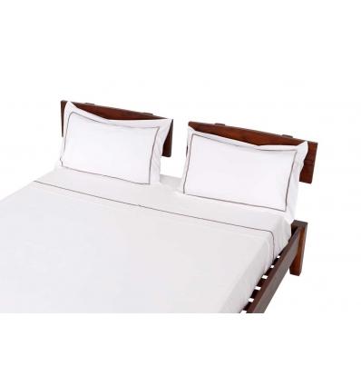 Bettwaschesatz braun