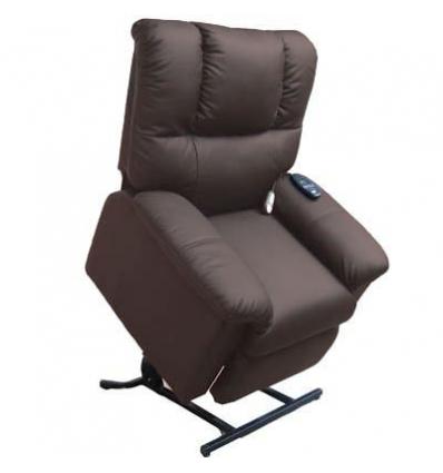 sessel mit elektrischer braun. Black Bedroom Furniture Sets. Home Design Ideas